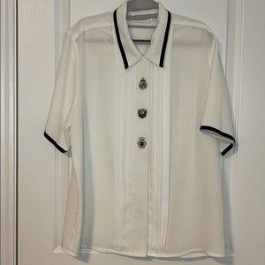 Beta's Choice Ivory blouse